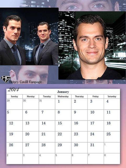Henry Cavill Fanpage 2014 Calendar - January | Flickr - Photo Sharing!