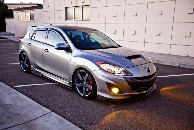 Silver Speed3, Lip Kit, Black Roof | Mazdaspeed 3 | Pinterest | Lip Kit,  Mazda And Cars