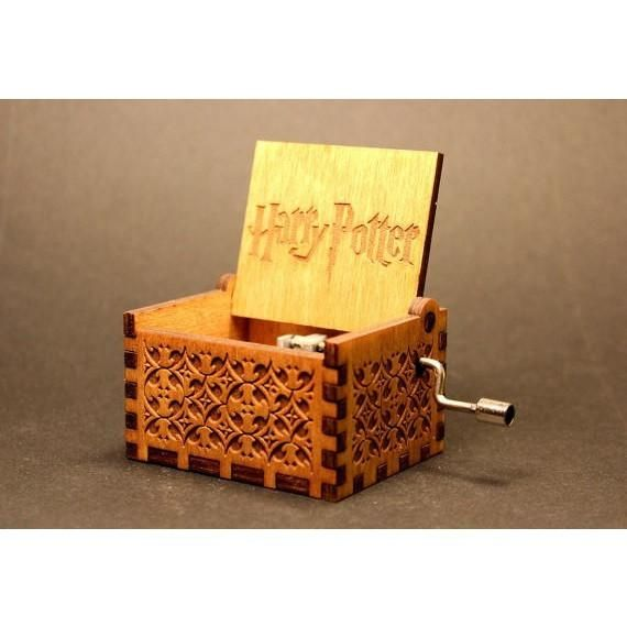 Harry Potter Wooden Music Box – Geek Zone