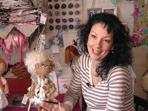 Авторские куклы Ирины Сазанович