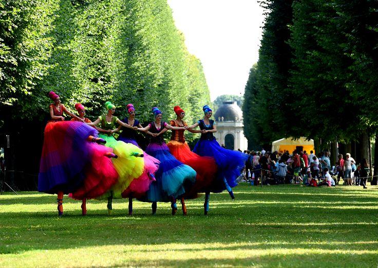 Teatro Pavana beim Kleinen Fest im Großen Garten in den Herrenhäuser Gärten von Hannover, Deutschlands erfolgreichstes Festival © Kleines Fest im Großen Garten #hannover #herrenhausen #events