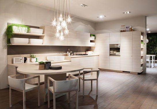 Nendo and Scavolini Collaborate on Simple, Sleek Kitchen and Bath Furnishings