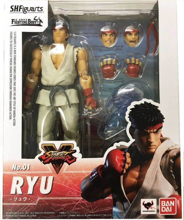 BANDAI SH FIGUARTS STREET FIGHTER V RYU ACTION FIGURE BRAND NEW AUTHENTIC http://ift.tt/2ybOTfQ