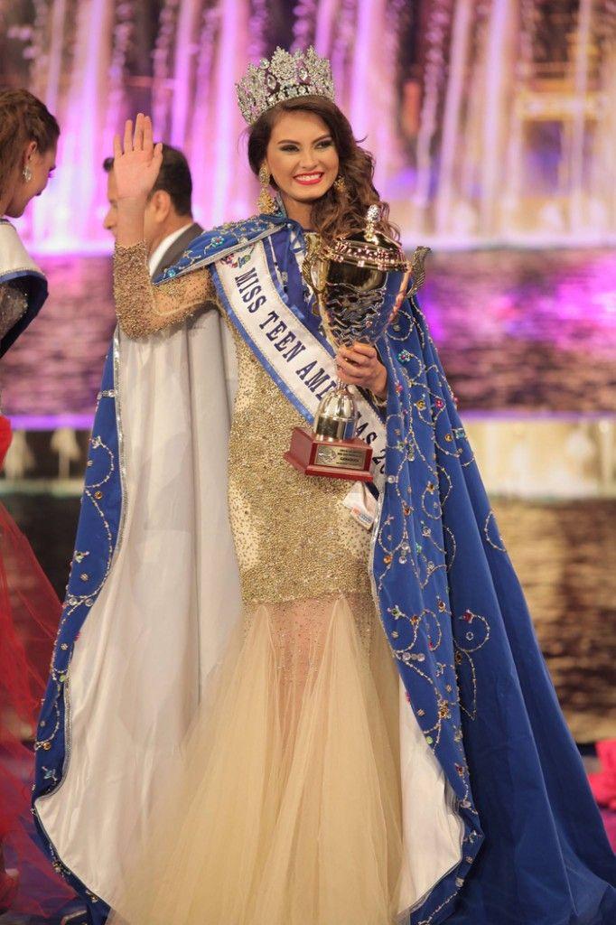 La nicaragüense Ana Janssy Marcelo Molina, Miss Teen América 2015. Imagen tomada de la página web del concurso.