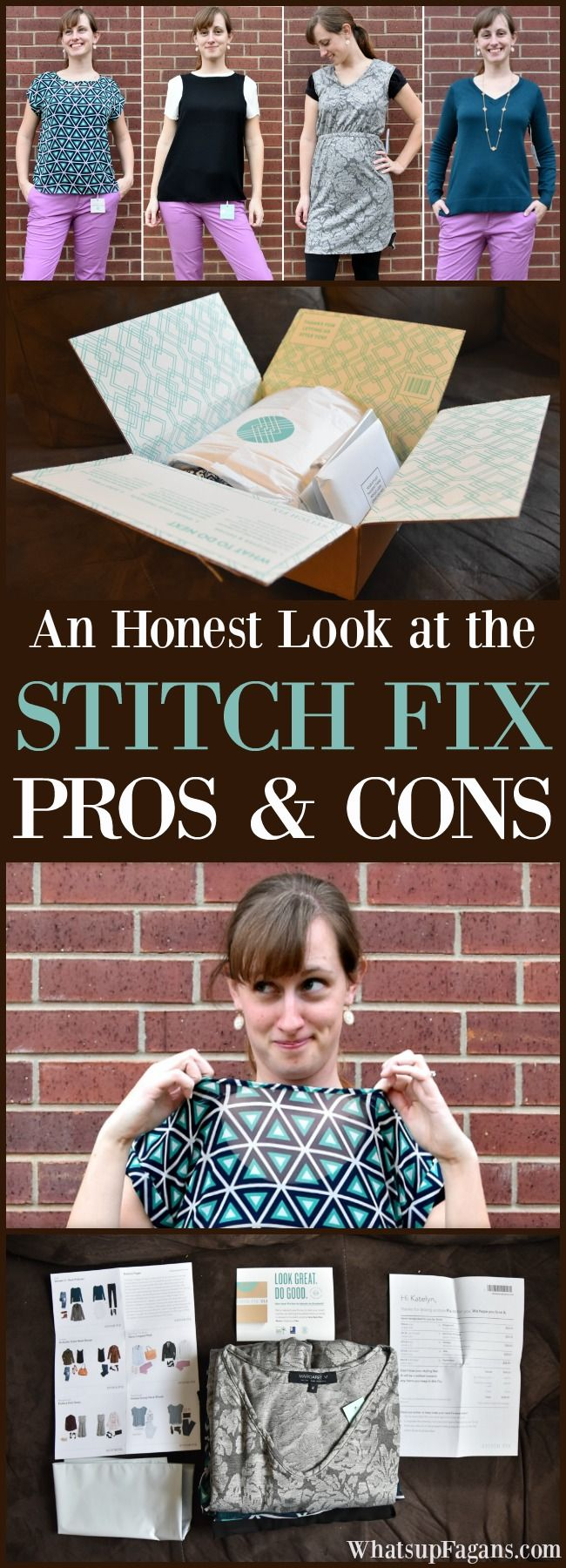 Stitch Fix Pros and Cons | Stitch Fix Cost | Stitch Fix Negative Review | Stitch Fix Positive Review | Bad Review | Honest Review | Clothing Subscription box | Fashion | Style | Personal Stylist | Trends | Wardrobe | Examples | Unboxing