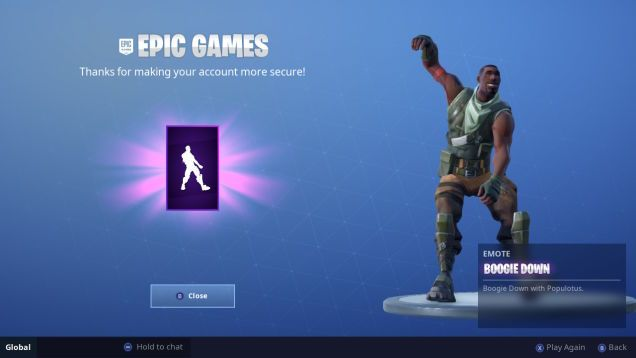 Fortnite Now Gives You A Reward If You Turn On Two Factor Authentication Fortnite Epic Games Rewards