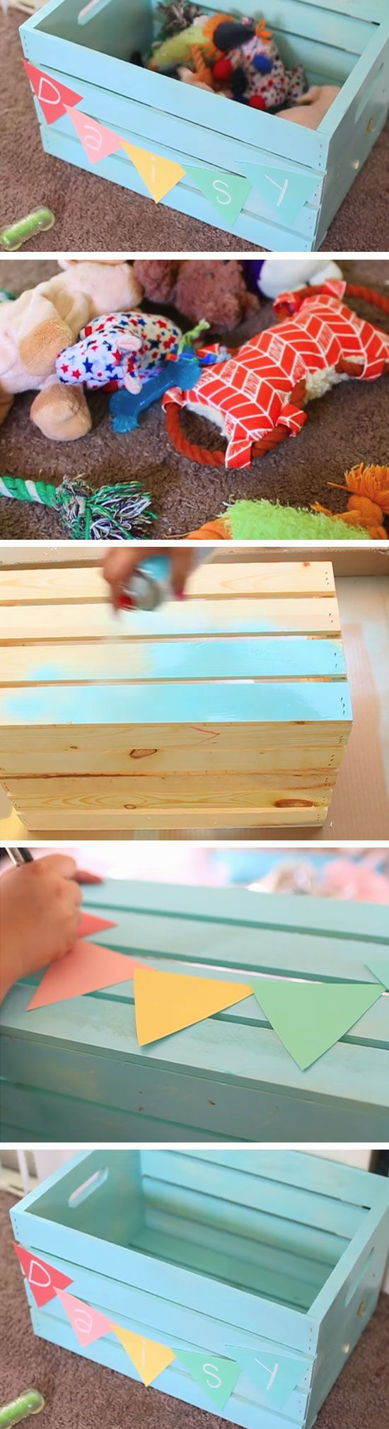 25+ unique White wooden toy box ideas on Pinterest | Wooden toy ...
