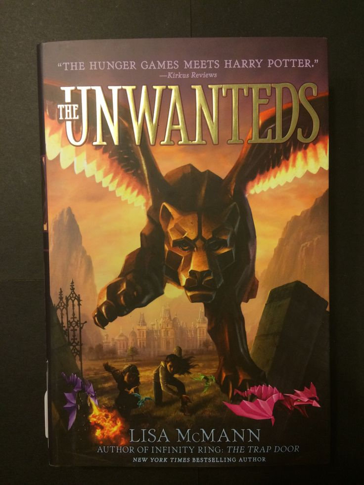 Bestselling author Lisa McMann brings her trademark gripping storytelling to middle-grade readers in this breathlessly paced dystopian fantasy. The Unwanteds by Lisa McMann
