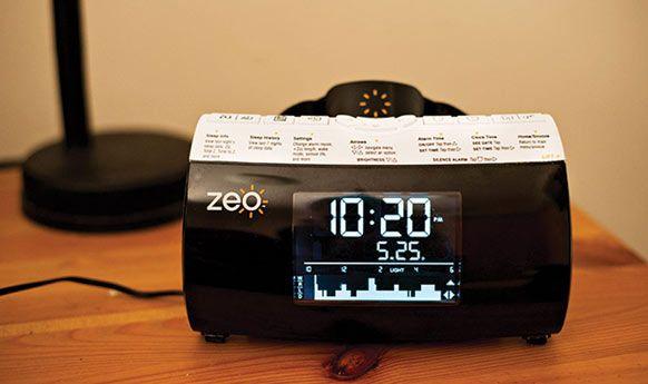 Zeo Slaap wekker, nog een andere behulpzame Quantified self apparaat die QuantifiedJan helpt