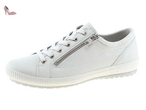 Legero  818-51, Chaussures de ville à lacets pour femme - - WHITE KOMBI, 41 EU - Chaussures legero (*Partner-Link)