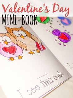 Valentineu0027s Day Mini Book. There Are Two Different Emergent Readers. One Is  About The