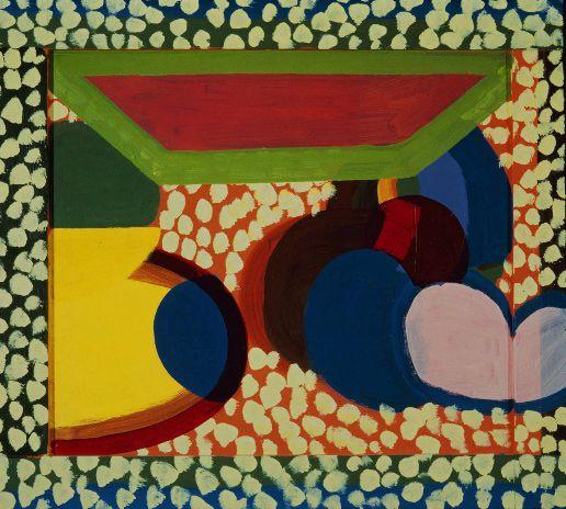 Blue Evening 1972 oil on canvas 102.9 x 102.9 cm