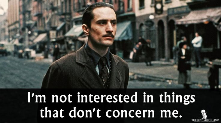 Robert De Niro in The Godfather Part 2 (1974)                                                                                                                                                      More