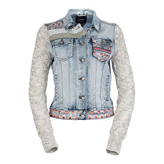 new styles 49f3c 91308 Desigual Carla - Jeansjacke: - Jeansjacke frauen jeansjacken ...
