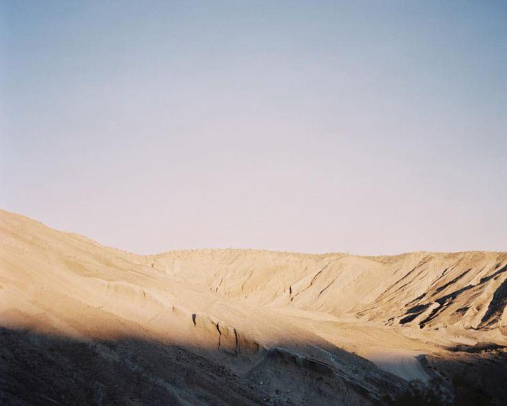 Film tones from the Mojave Desert  (at Mojave, California)