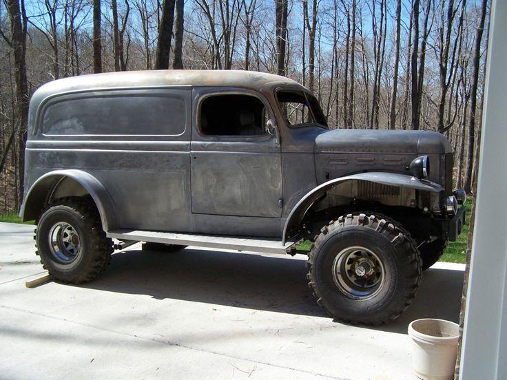 """39-47dodgeplymouthfargo:1940 Dodge """"Power Panel"""" Wagon"""