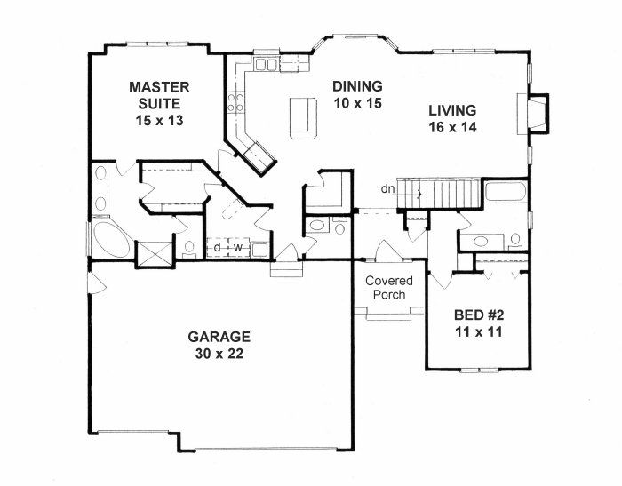 Beach house plans under 1600 square feet for 1600 sq ft open concept house plans