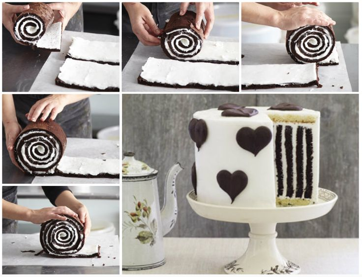 "<input class=""jpibfi"" type=""hidden"" >This Chocolate Stripe Cake is so gorgeous and delicious as well .It's made with a chocolate roulade, vanilla cake for the base and top and buttercream to hold it all together.Your family and friends will be absolutely delighted when you cut into this amazing cake! Click  here for the recipe from 'Good Food Channel' Click…"