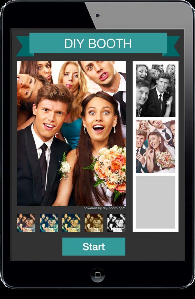 24 best wedding photobooth ideas images on pinterest bridal diy photobooth using an ipad solutioingenieria Gallery