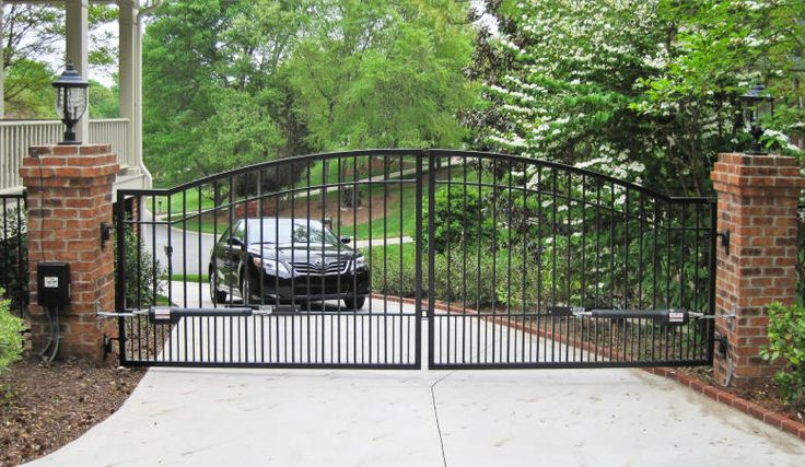 Mighty Mule | Driveway Gates | Mighty Mule | Automatic | Solar | Garden | Steel | Wrought Iron | Garden | Electric