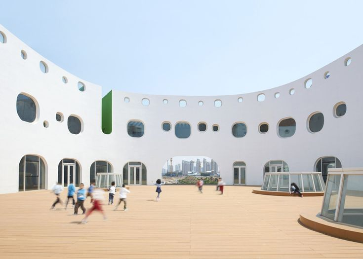 Loop Kindergarten by SAKO Architects