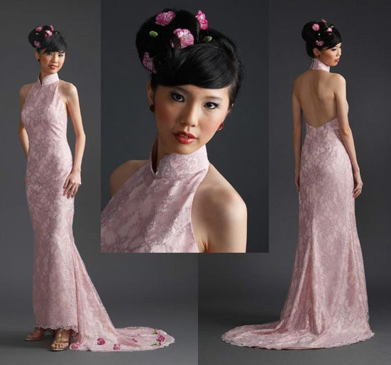 Chinese Bridal Hairstyles Classic Sleek Updo 新娘盘头发型: Hairstyles For Traditional Chinese