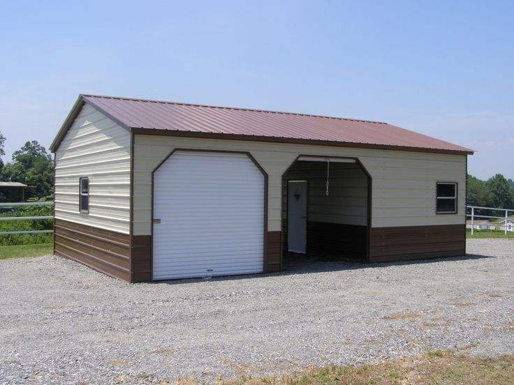 14 best images about sheds buildings on pinterest 3 car metal garage kits