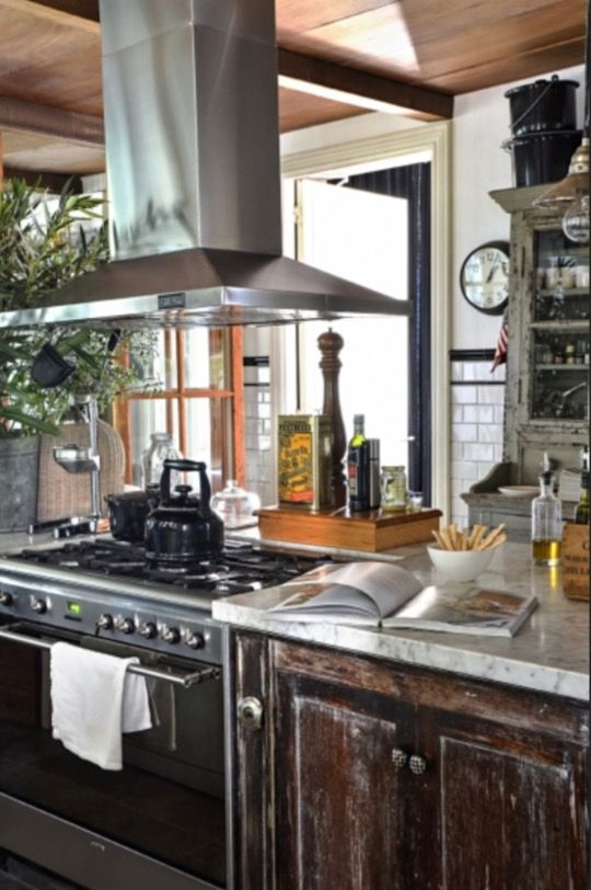 "This wonderful kitchen is from our feature ""Pablo's Place"""