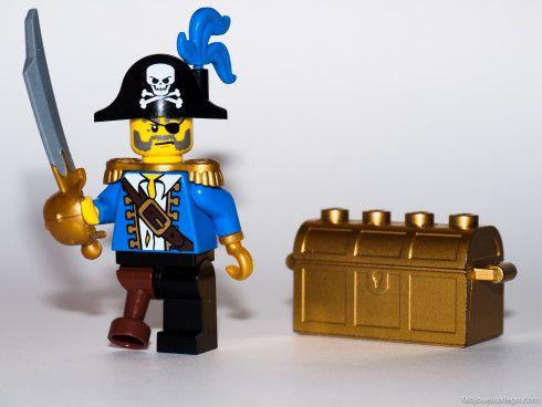 lego pirate minifigure - Lego Pirate