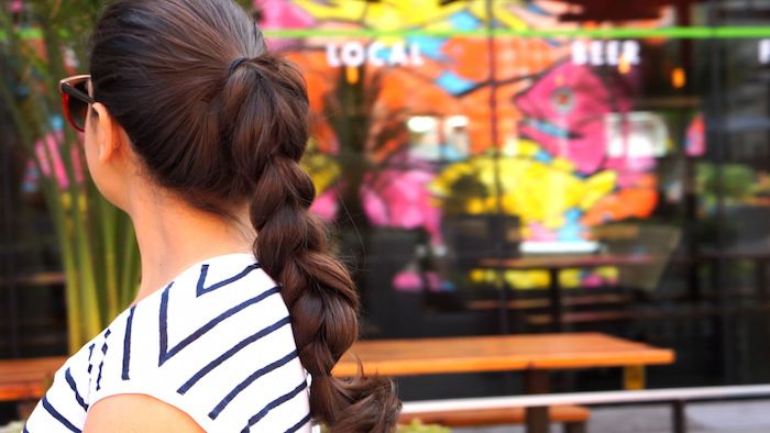 Sleek tumblr ponytail perfect for workout class :)    Katherine Lauren Hair Tutorial (EASY!)