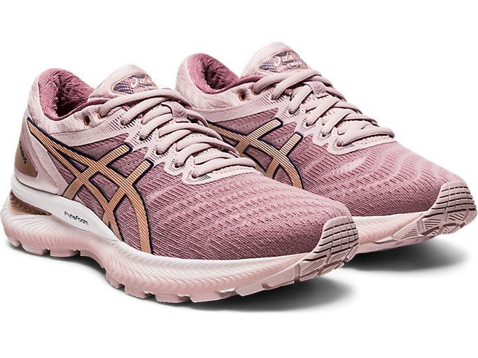 GEL-Nimbus 22 | Watershed Rose/Rose Gold | Women's Running ...