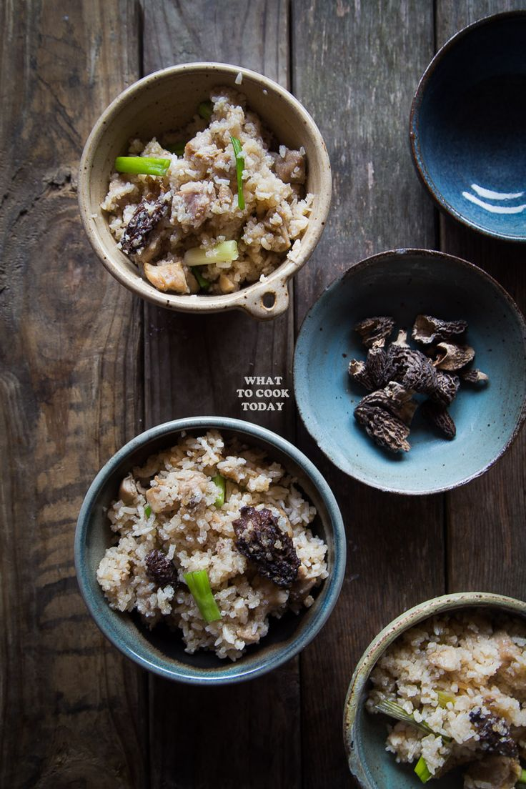 One-pot Miso Chicken Rice and Morels is packed with amazing umami flavor and it's a no-fuss recipe that delivers tons of flavor