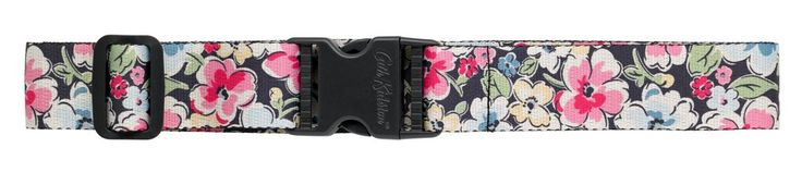 Keep your luggage secure with an adjustable strap. In Orchard Blossom print, it will make your bags pretty, safe and easy to spot.