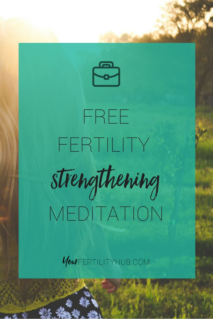 Meditations are an excellent way to relax during #infertility and are scientifically proven to improve your #naturalfertility . Download our free 20-minute strengthening #meditation #freemeditation . Join Your Fertility Toolbox for free to access this and many more #fertilitymeditations .#fertility #ttc