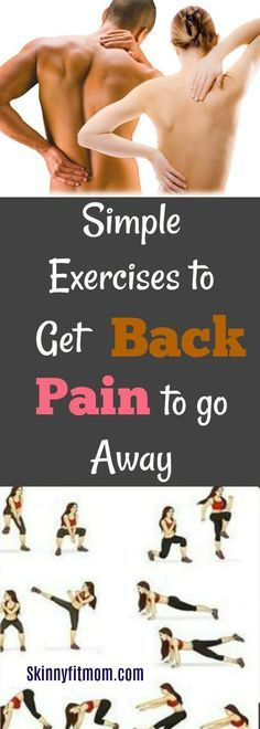 Top 10 Effective Natural Remedies + Exercises For Back Pain That Works - SKINNY FIT MOM