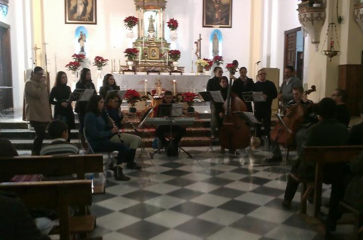 Coro de Alboloduy en el recital de Navidad. Alpujarra. Música. Cultura