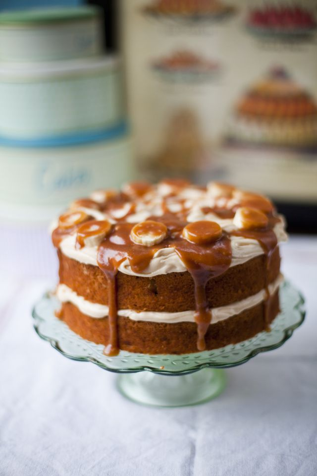 Banoffee Cake - The Official Website for Donal Skehan