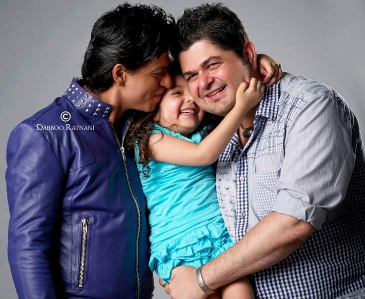 Shahrukh, Myrah Ratnani and Daboo Ratnani