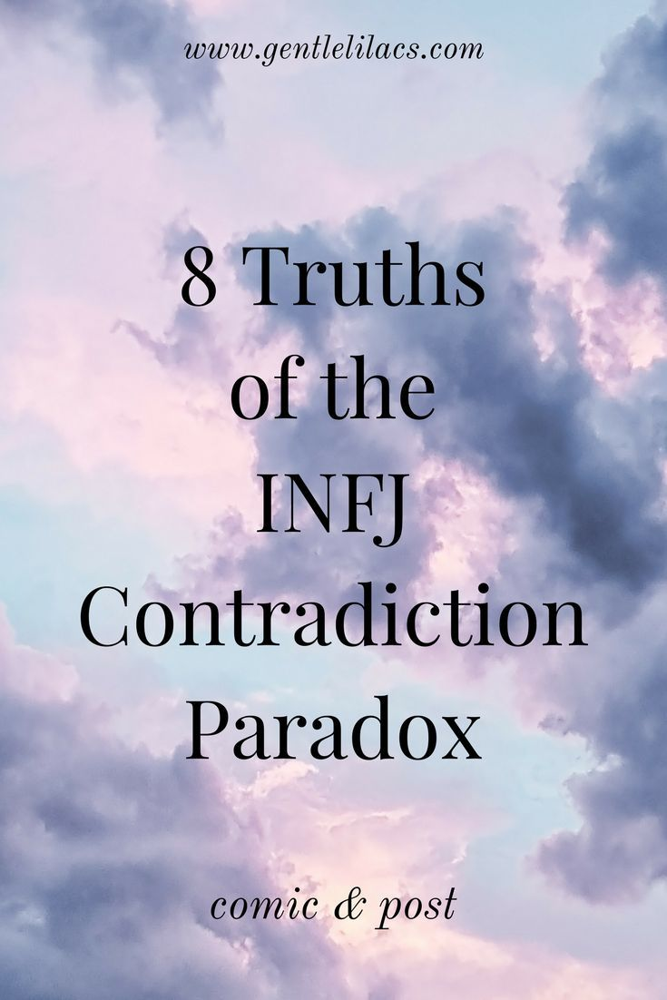 8 Truths of the INFJ Contradiction Paradox | Business Community
