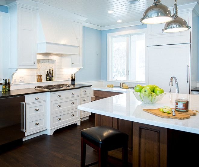 Popular Kitchen Paint Colors: 17 Best Ideas About Blue Kitchen Paint On Pinterest