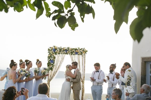 Kapari Natural Resort Santorini | Wedding Ceremony | Greece Wedding