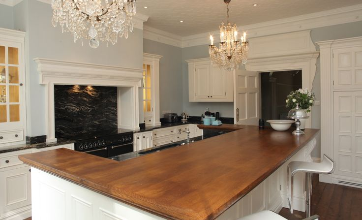 Hand painted kitchen, Abode Carpentry