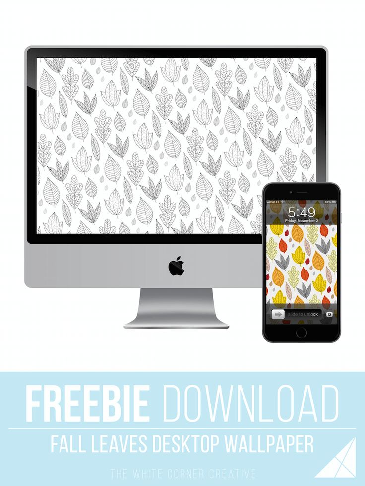 Happy thanksgiving everyone! Here are some free fall wallpapers to decorate your…