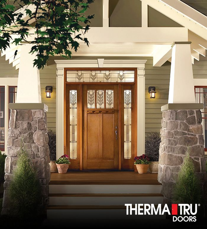 66 best images about curb appeal on pinterest planters for Therma tru classic craft
