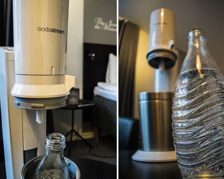 SodaStream now in our Double Plus Rooms! Enjoy fantastic fizzy water whenever you want!