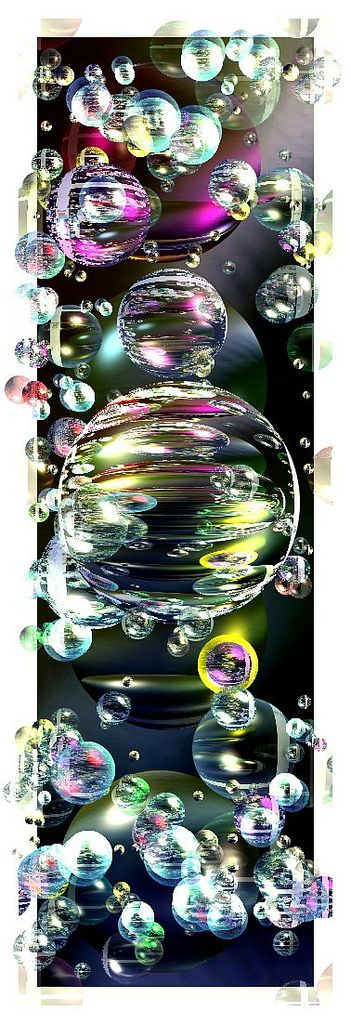 Bubble splendor.  https://www.flickr.com/photos/72545125@N06/8404004225/sizes/l/in/photostream/
