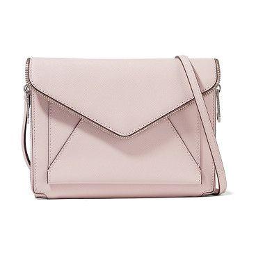 On SALE at 45% OFF! marlowe mini textured-leather shoulder bag by Rebecca Minkoff. Rebecca Minkoff pastel -pink Marlowe mini shoulder bag . Textured -leather . Detachable adjustable shoulder strap . Z...