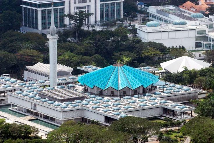 National Mosque of Malaysia - Kuala Lumpur - Malaysia