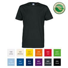 CottoVer t-skjorte miljøvennlige t-skjorter med trykk Be Your Brand Go green