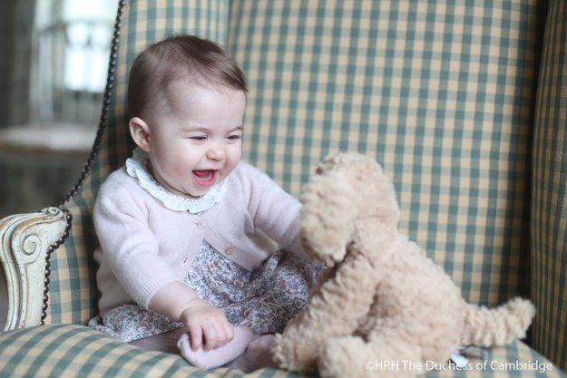 The pictures of Charlotte were taken by her mother, the Duchess of Cambridge Kate Middleton, at their home in Norfolk and shared on the Kensington Royal Twitter account on Sunday. | Here's Some New Pictures Of Princess Charlotte To Melt Your Heart